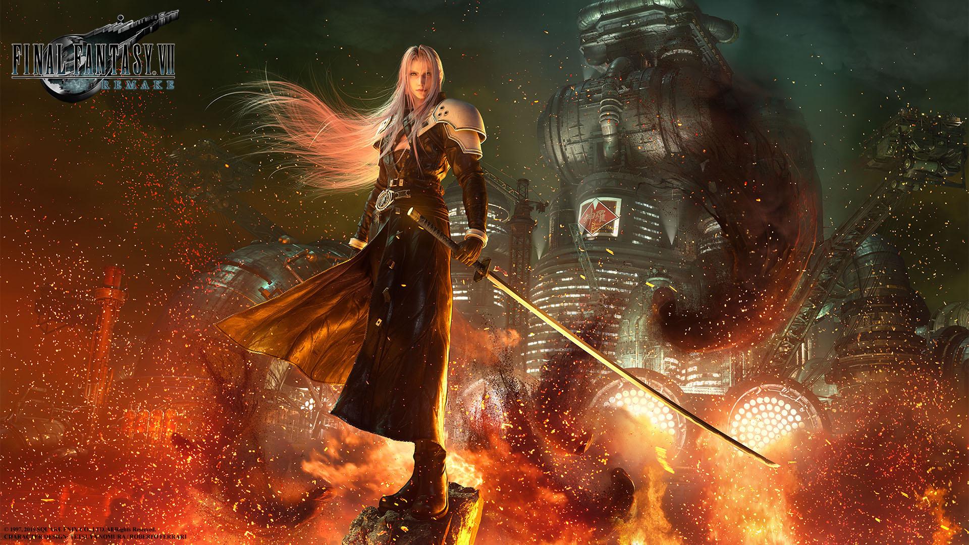E3 2019: Final Fantasy VII Remake llegará en marzo