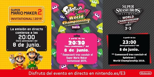 [Resumen] Las novedades de las finales de los torneos de Nintendo en el E3 2019