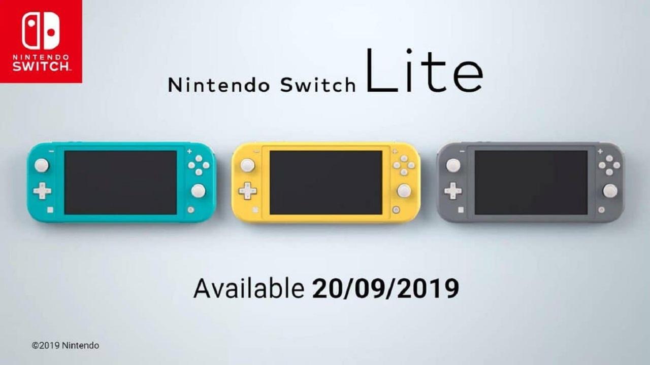 Nintendo Switch Lite es oficialmente anunciada: portátil y económica