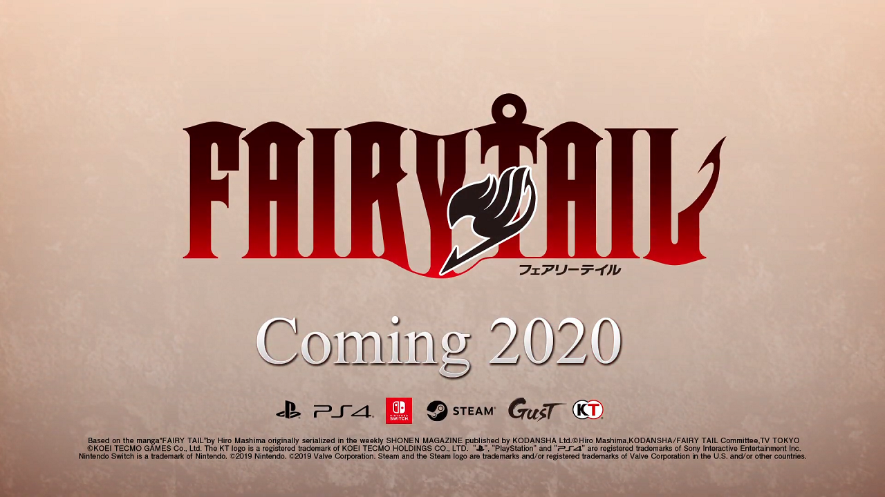 Anunciado un videojuego de Fairy Tail para Switch, PS4 y Steam