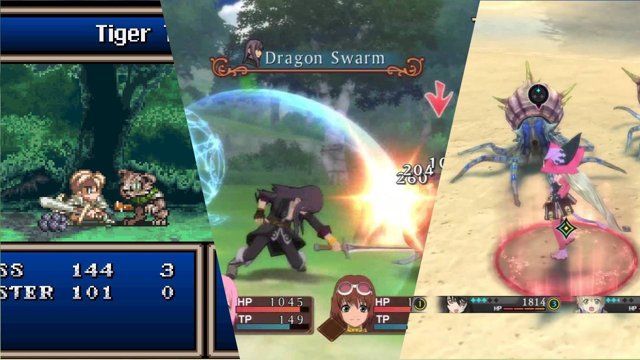La evolución del sistema de combate de Tales of