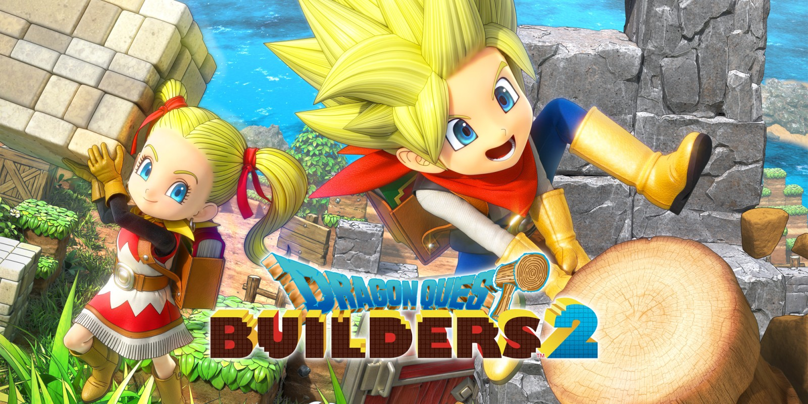 Dragon Quest Builders 2 llega a PC en diciembre