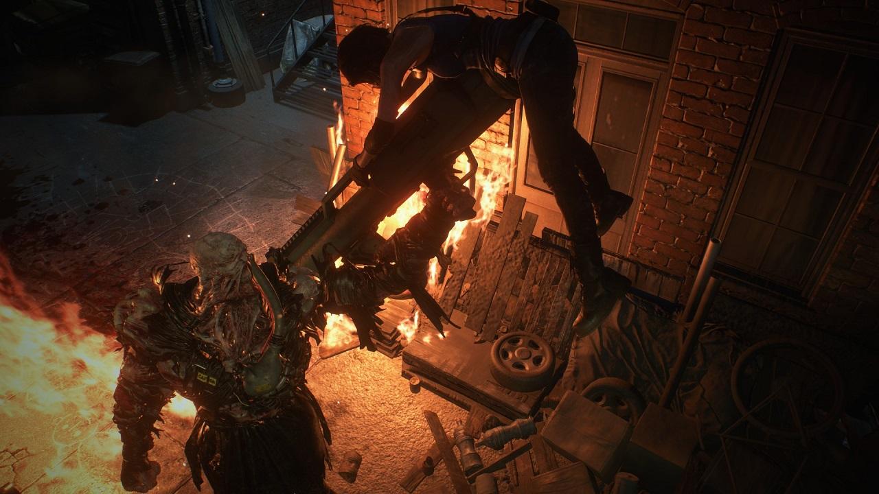 El nuevo tráiler de Resident Evil 3 presenta a Nemesis