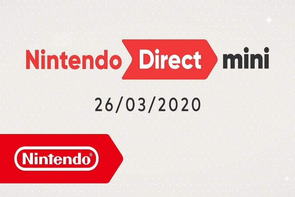 Nintendo Direct Mini 26/03/2020: abril, mayo y junio ya tienen su catalogo