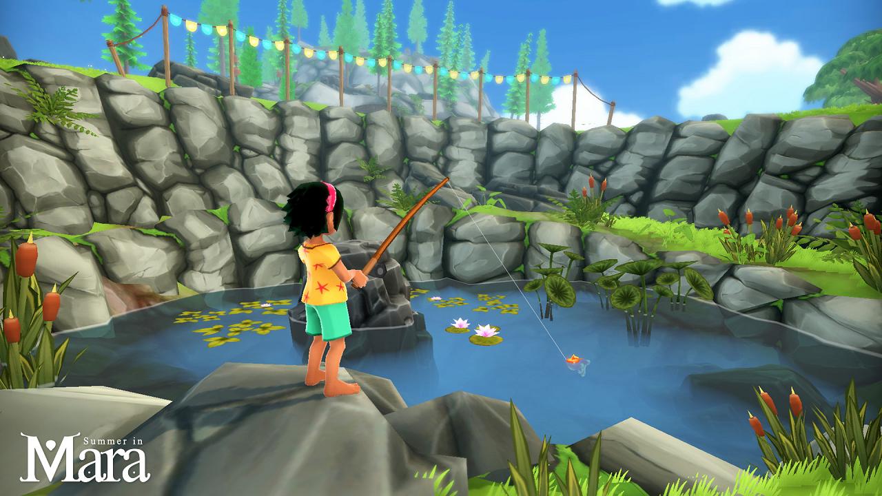 Summer in Mara llega en primavera a Nintendo Switch y PC