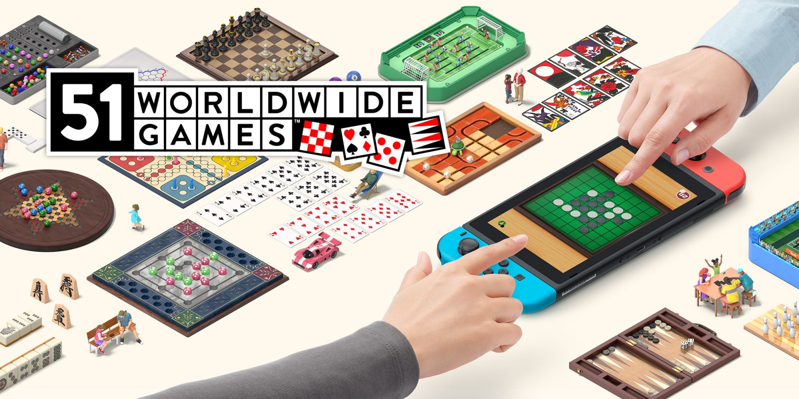 51 Worldwide Games, juegos de siempre en Nintendo Switch