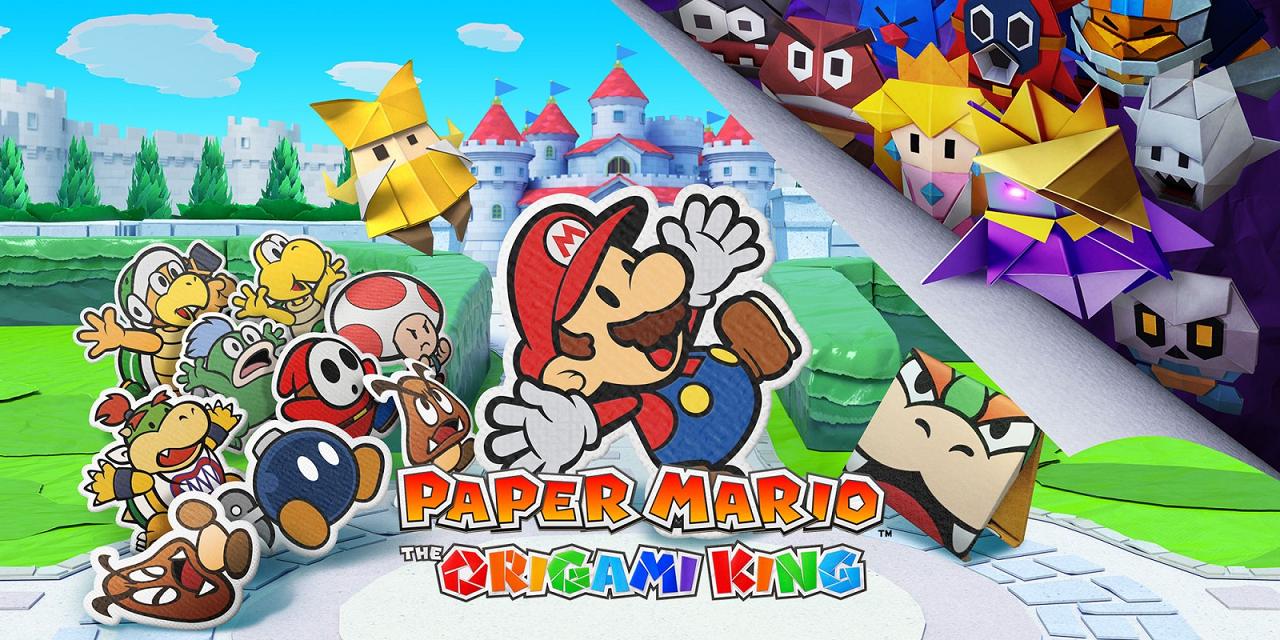 Anunciado Paper Mario: The Origami King para el 17 de julio