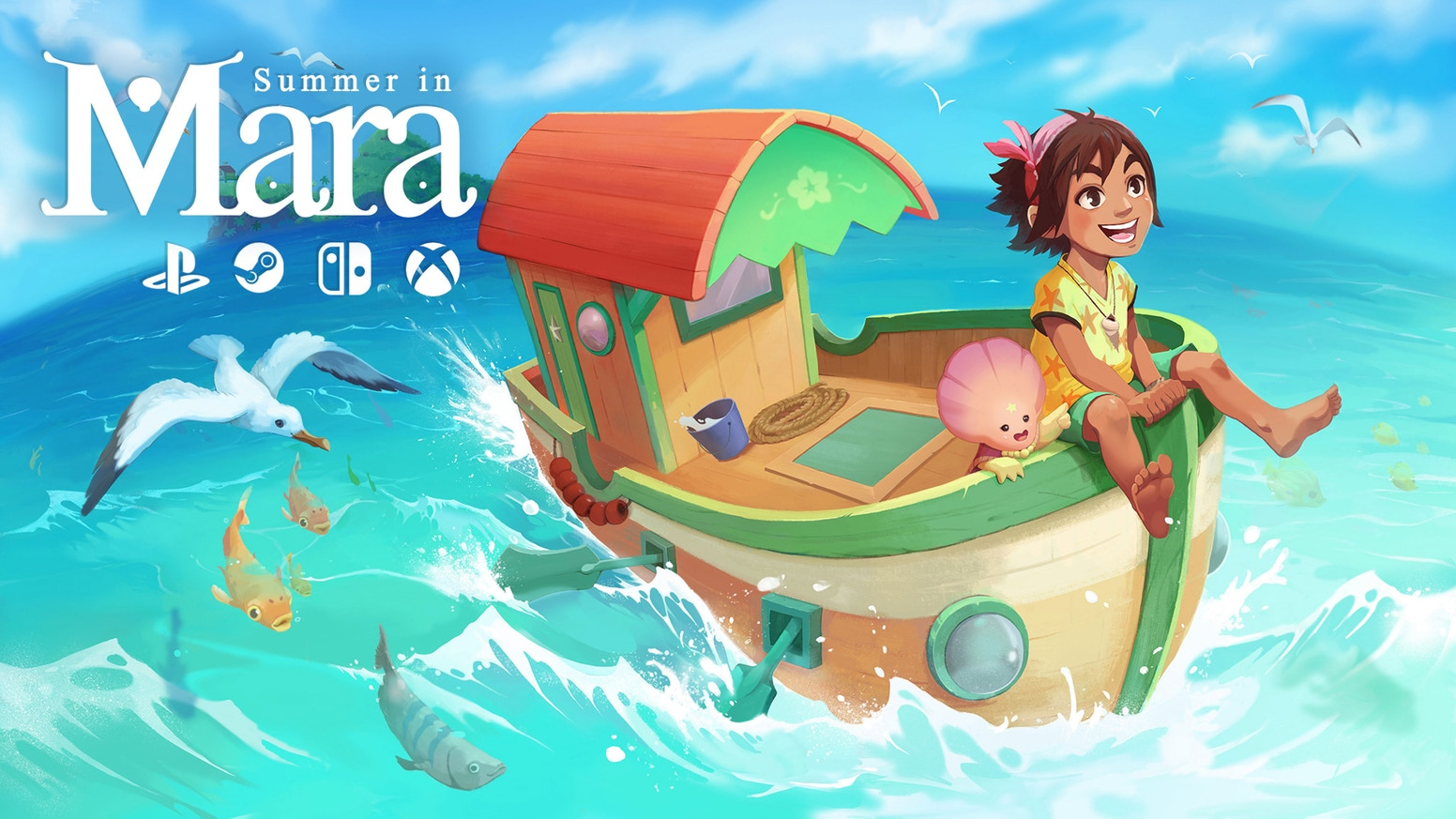 Summer in Mara, a la venta el 16 de junio en Switch y Steam