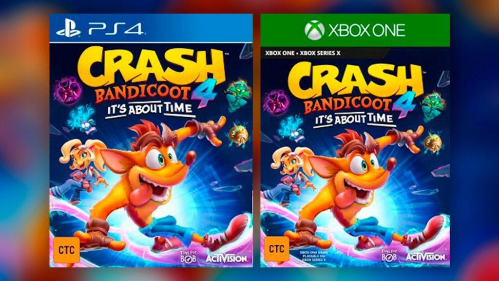 Filtrado Crash Bandicoot 4: It's About Time, la saga continuará la vieja linea de Naughty Dog