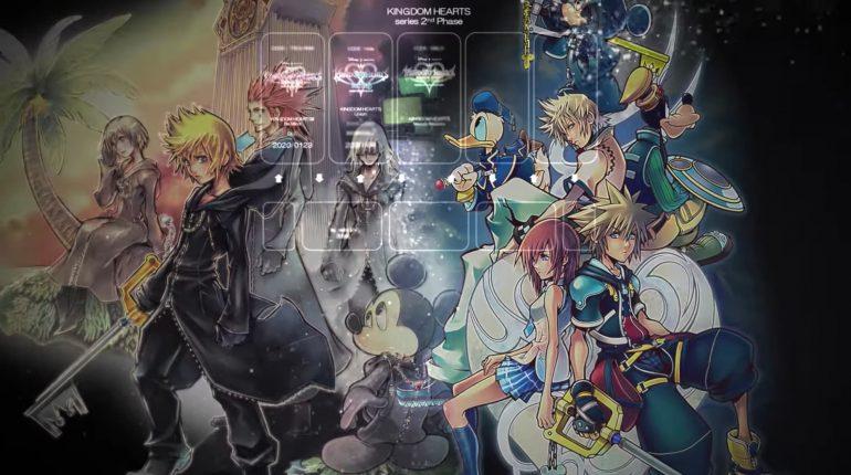 Kingdom Hearts presenta el tercer juego de su segunda fase: Melody of Memory
