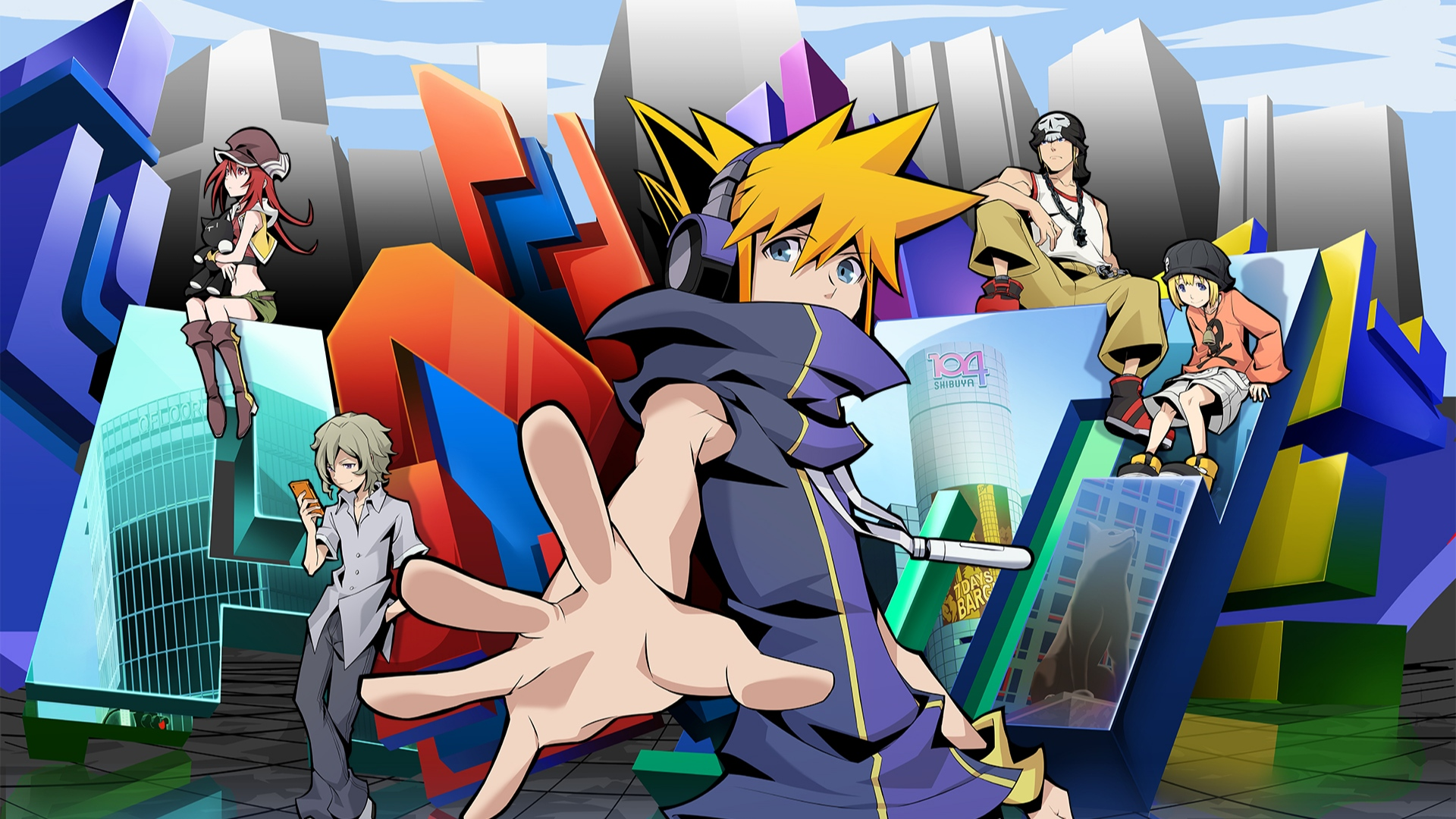 The World Ends With You The Animation se estrenará mundialmente en 2021