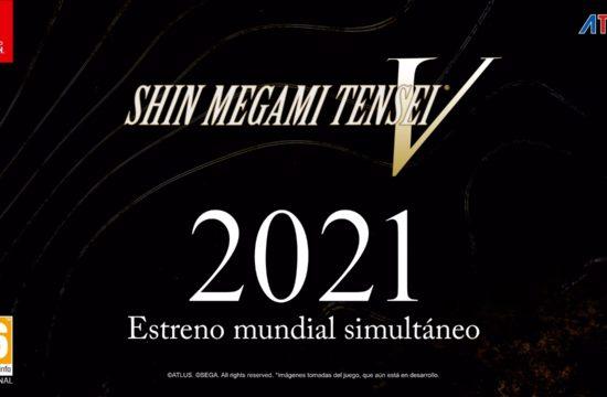 Shin Megami Tensei V se lanzará simultáneamente en todo el mundo en 2021