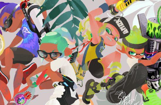 Nuevo artwork y más splatfests para celebrar el tercer aniversario de Splatoon 2