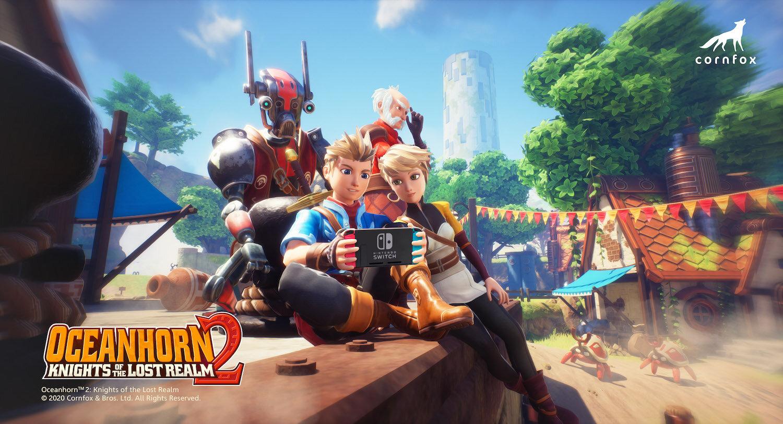 Oceanhorn 2 confirma su lanzamiento para Nintendo Switch