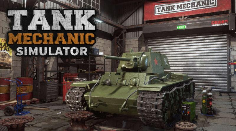 Tank Mechanic Simulator Nintendo