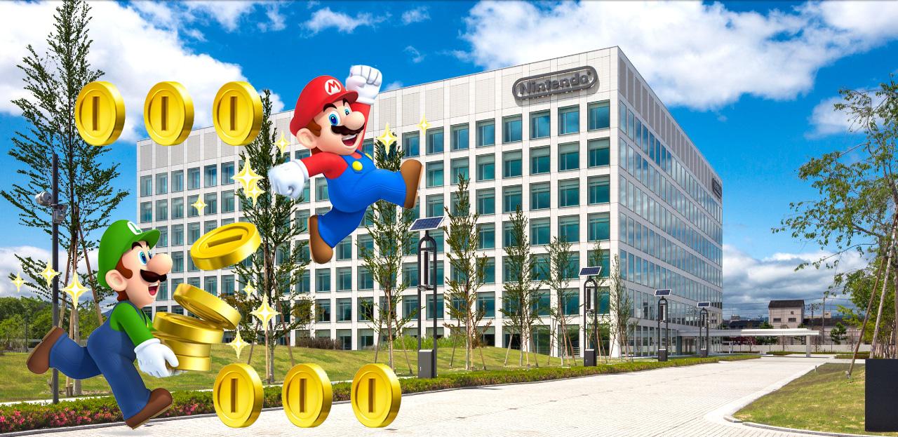 Nintendo es la compañía con más dinero en Japón
