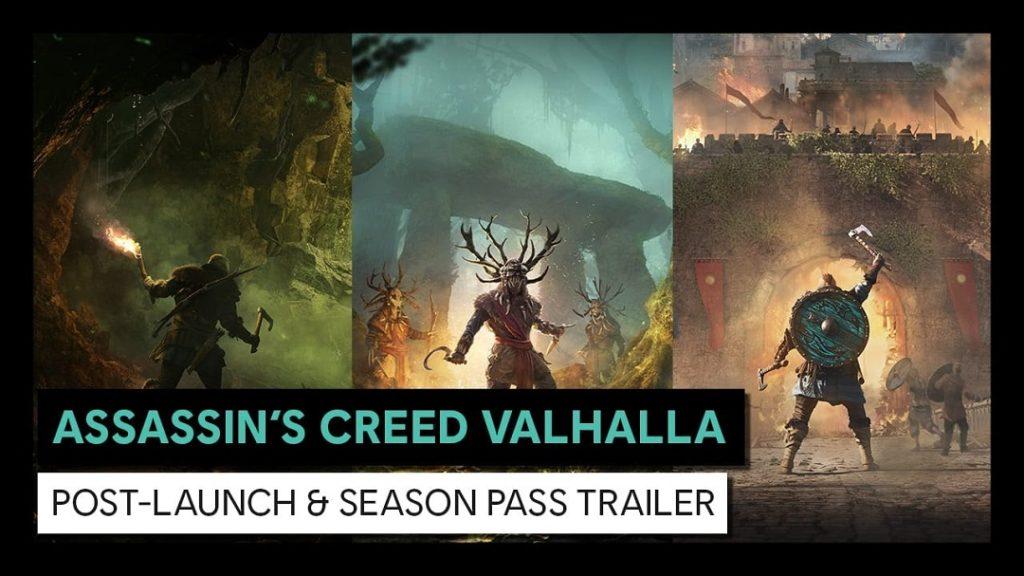 Assassin's Creed: Valhalla nos llevará a Irlanda y París en su Season Pass