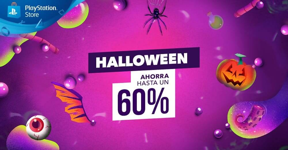 PlayStation Store Halloween