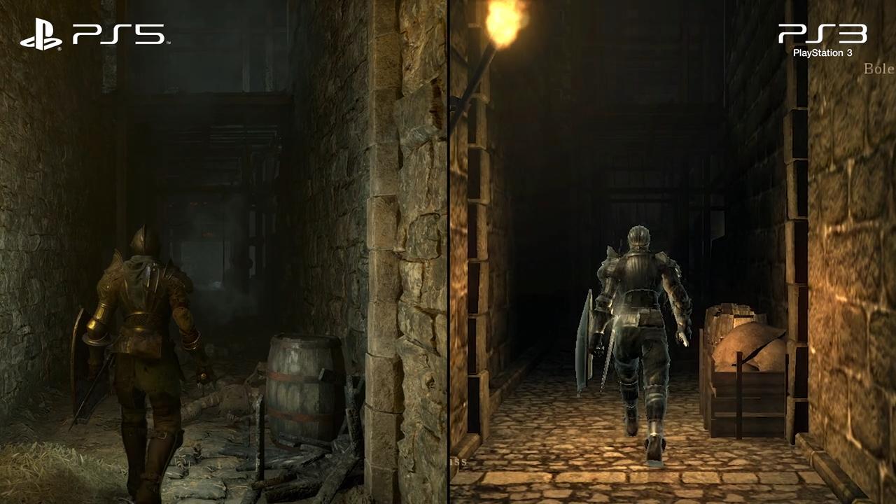 Demon's Souls funciona a menos resolución de lo prometido en su modo rendimiento