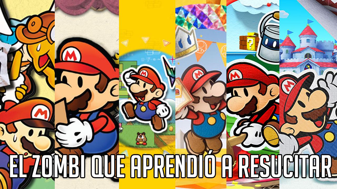 Paper Mario: el zombi que aprendió a resucitar