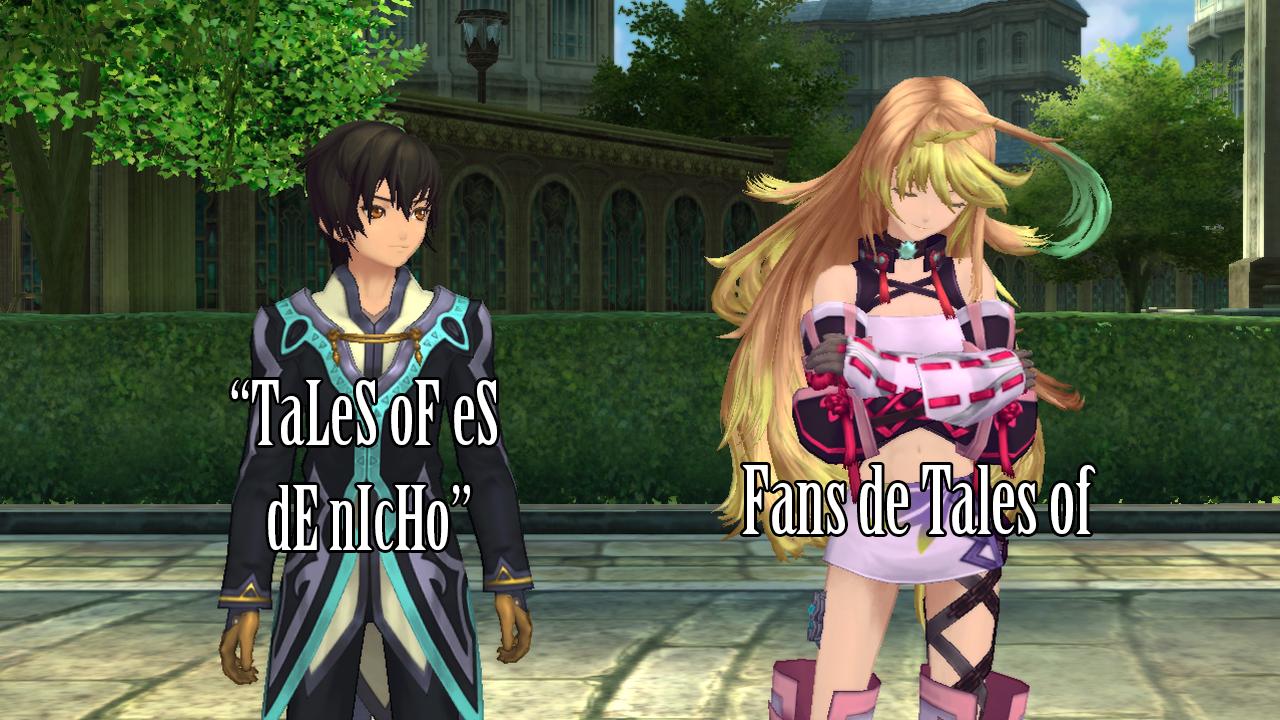 Tales of no es un JRPG de nicho