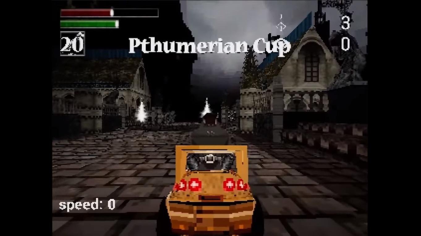 Bloodborne Kart Racing