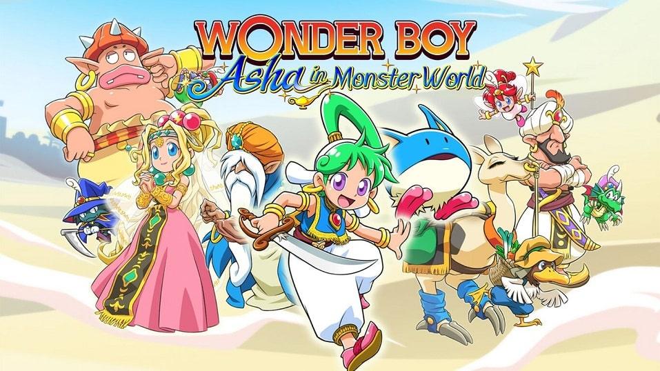 Wonder Boy: Asha