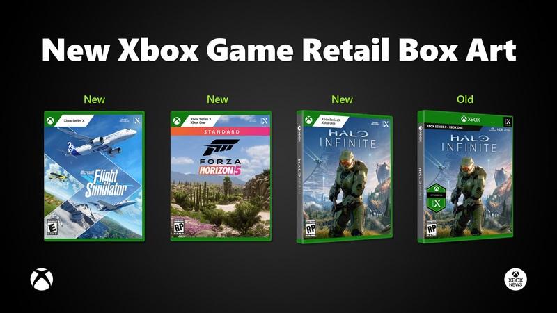Xbox nuevo arte