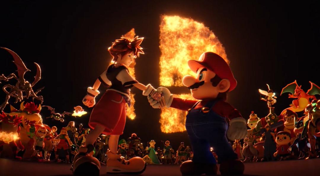¡Sora sorprende cerrando la llave a Super Smash Bros. Ultimate!