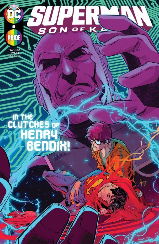 Superman: Son of Kal-El #5 se unirá a DC Pride con Jon Kent descubriéndose a si mismo